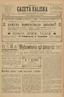 Gazeta Kaliska : pismo codzienne, polityczne, społeczne i ekonomiczne. R.30, № 130 (10 czerwca 1922) = nr 7169