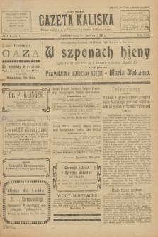 Gazeta Kaliska : pismo codzienne, polityczne, społeczne i ekonomiczne. R.30, № 136 (18 czerwca 1922) = nr 7175