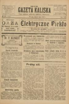 Gazeta Kaliska : pismo codzienne, polityczne, społeczne i ekonomiczne. R.30, № 148 (4 lipca 1922) = nr 7187