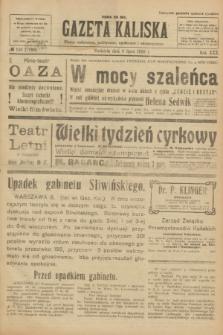 Gazeta Kaliska : pismo codzienne, polityczne, społeczne i ekonomiczne. R.30, № 153 (9 lipca 1922) = nr 7192