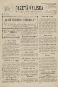 Gazeta Kaliska : pismo codzienne, polityczne, społeczne i ekonomiczne. R.30, № 154 (11 lipca 1922) = nr 7193