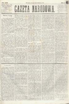 Gazeta Narodowa. 1870, nr105