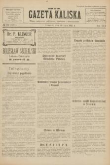 Gazeta Kaliska : pismo codzienne, polityczne, społeczne i ekonomiczne. R.30, № 162 (20 lipca 1922) = nr 7201