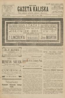 Gazeta Kaliska : pismo codzienne, polityczne, społeczne i ekonomiczne. R.30, № 171 (30 lipca 1922) = nr 7210