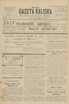Gazeta Kaliska : pismo codzienne, polityczne, społeczne i ekonomiczne. R.30, № 173 (2 sierpnia 1922) = nr 7212
