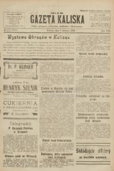 Gazeta Kaliska : pismo codzienne, polityczne, społeczne i ekonomiczne. R.30, № 178 (8 sierpnia 1922) = nr 7217