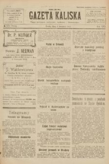 Gazeta Kaliska : pismo codzienne, polityczne, społeczne i ekonomiczne. R.30, № 179 (9 sierpnia 1922) = nr 7218