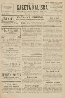 Gazeta Kaliska : pismo codzienne, polityczne, społeczne i ekonomiczne. R.30, № 183 (13 sierpnia 1922) = nr 7222