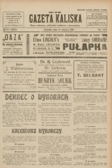 Gazeta Kaliska : pismo codzienne, polityczne, społeczne i ekonomiczne. R.30, № 188 (20 sierpnia 1922) = nr 7227