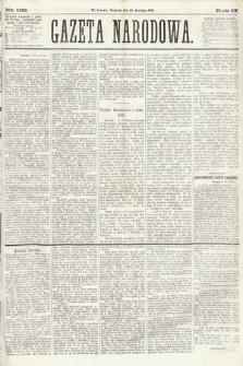Gazeta Narodowa. 1870, nr108