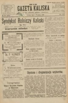 Gazeta Kaliska : pismo codzienne, polityczne, społeczne i ekonomiczne. R.30, № 199 (2 września 1922) = nr 7238