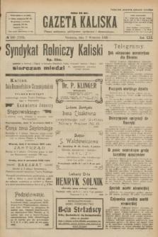 Gazeta Kaliska : pismo codzienne, polityczne, społeczne i ekonomiczne. R.30, № 200 (3 września 1922) = nr 7239