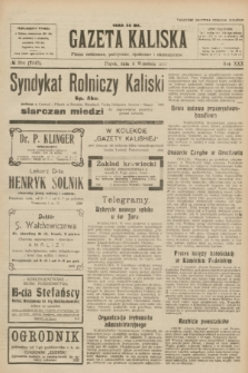 Gazeta Kaliska : pismo codzienne, polityczne, społeczne i ekonomiczne. R.30, № 204 (8 września 1922) = nr 7243