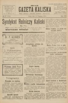 Gazeta Kaliska : pismo codzienne, polityczne, społeczne i ekonomiczne. R.30, № 207 (13 września 1922) = nr 7246