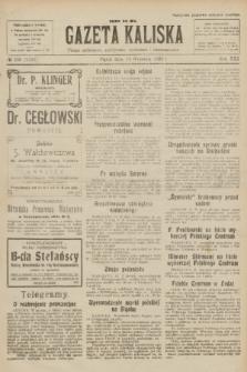 Gazeta Kaliska : pismo codzienne, polityczne, społeczne i ekonomiczne. R.30, № 209 (15 września 1922) = nr 7248