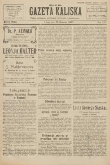Gazeta Kaliska : pismo codzienne, polityczne, społeczne i ekonomiczne. R.30, № 210 (16 września 1922) = nr 7249
