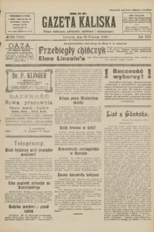 Gazeta Kaliska : pismo codzienne, polityczne, społeczne i ekonomiczne. R.30, № 220 (28 września 1922) = nr 7259