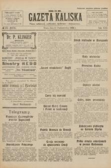 Gazeta Kaliska : pismo codzienne, polityczne, społeczne i ekonomiczne. R.30, № 231 (11 października 1922) = nr 7270