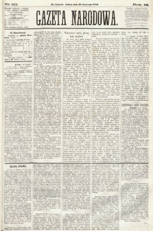 Gazeta Narodowa. 1870, nr113