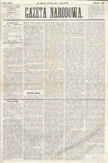 Gazeta Narodowa. 1870, nr114