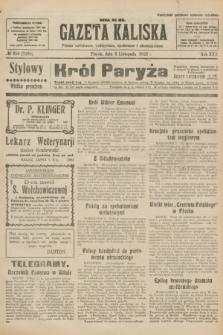 Gazeta Kaliska : pismo codzienne, polityczne, społeczne i ekonomiczne. R.30, № 250 (3 listopada 1922) = nr 7289