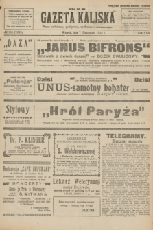 Gazeta Kaliska : pismo codzienne, polityczne, społeczne i ekonomiczne. R.30, № 253 (7 listopada 1922) = nr 7292