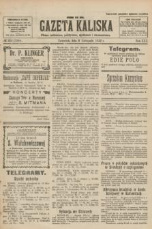 Gazeta Kaliska : pismo codzienne, polityczne, społeczne i ekonomiczne. R.30, № 255 (9 listopada 1922) = nr 7294
