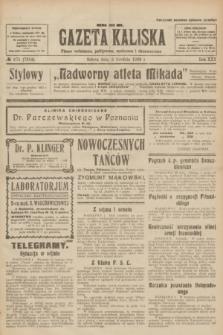 Gazeta Kaliska : pismo codzienne, polityczne, społeczne i ekonomiczne. R.30, № 275 (2 grudnia 1922) = nr 7314