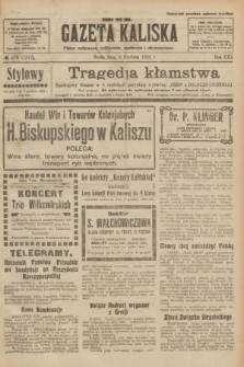 Gazeta Kaliska : pismo codzienne, polityczne, społeczne i ekonomiczne. R.30, № 278 (6 grudnia 1922) = nr 7317