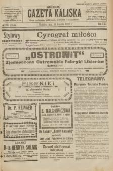 Gazeta Kaliska : pismo codzienne, polityczne, społeczne i ekonomiczne. R.30, № 281 (10 grudnia 1922) = nr 7320 + dod.