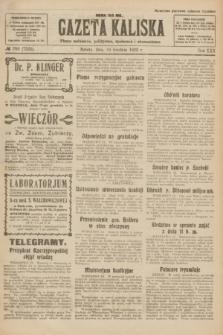 Gazeta Kaliska : pismo codzienne, polityczne, społeczne i ekonomiczne. R.30, № 286 (16 grudnia 1922) = nr 7325