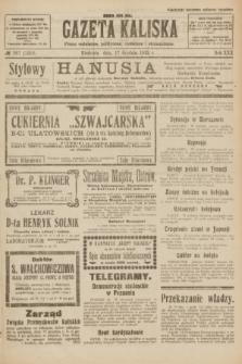 Gazeta Kaliska : pismo codzienne, polityczne, społeczne i ekonomiczne. R.30, № 287 (17 grudnia 1922) = nr 7326