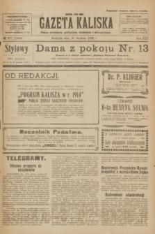 Gazeta Kaliska : pismo codzienne, polityczne, społeczne i ekonomiczne. R.30, № 297 (31 grudnia 1922) = nr 7336