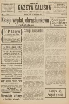 Gazeta Kaliska : pismo codzienne, polityczne, społeczne i ekonomiczne. R.31, № 11 (16 stycznia 1923) = nr 7346