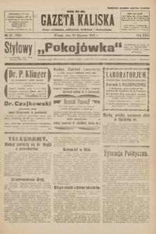 Gazeta Kaliska : pismo codzienne, polityczne, społeczne i ekonomiczne. R.31, № 23 (30 stycznia 1923) = nr 7358