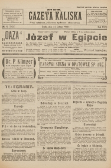 Gazeta Kaliska : pismo codzienne, polityczne, społeczne i ekonomiczne. R.31, № 35 (14 lutego 1923) = nr 7371
