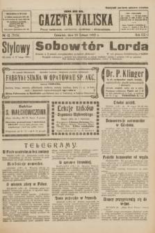 Gazeta Kaliska : pismo codzienne, polityczne, społeczne i ekonomiczne. R.31, № 42 (22 lutego 1923) = nr 7378