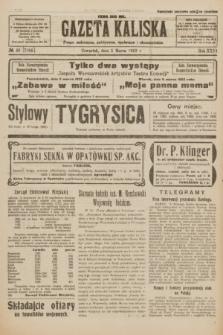 Gazeta Kaliska : pismo codzienne, polityczne, społeczne i ekonomiczne. R.31, № 48 (1 marca 1923) = nr 7384