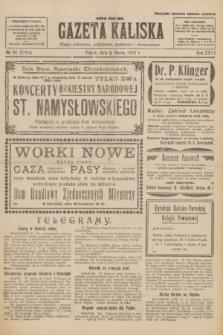 Gazeta Kaliska : pismo codzienne, polityczne, społeczne i ekonomiczne. R.31, № 55 (9 marca 1923) = nr 7391