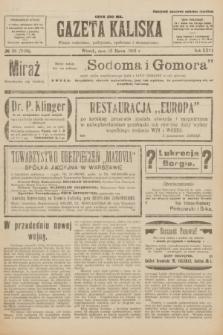Gazeta Kaliska : pismo codzienne, polityczne, społeczne i ekonomiczne. R.31, № 58 (13 marca 1923) = nr 7394