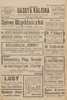 Gazeta Kaliska : pismo codzienne, polityczne, społeczne i ekonomiczne. R.31, № 73 (31 marca 1923) = nr 7409