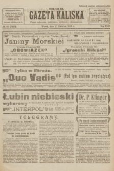 Gazeta Kaliska : pismo codzienne, polityczne, społeczne i ekonomiczne. R.31, № 85 (17 kwietnia 1923) = nr 7420
