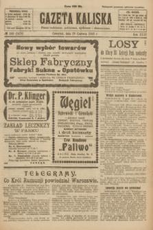 Gazeta Kaliska : pismo codzienne, polityczne, społeczne i ekonomiczne. R.31, № 143 (28 czerwca 1923) = nr 7478