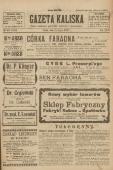 Gazeta Kaliska : pismo codzienne, polityczne, społeczne i ekonomiczne. R.31, № 153 (11 lipca 1923) = nr 7488