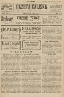 Gazeta Kaliska : pismo codzienne, polityczne, społeczne i ekonomiczne. R.31, № 162 (21 lipca 1923) = nr 7497