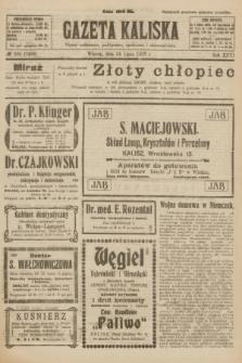 Gazeta Kaliska : pismo codzienne, polityczne, społeczne i ekonomiczne. R.31, № 164 (24 lipca 1923) = nr 7499