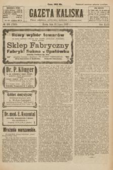 Gazeta Kaliska : pismo codzienne, polityczne, społeczne i ekonomiczne. R.31, № 165 (25 lipca 1923) = nr 7500