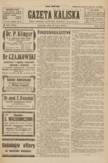 Gazeta Kaliska : pismo codzienne, polityczne, społeczne i ekonomiczne. R.31, № 166 (26 lipca 1923) = nr 7501