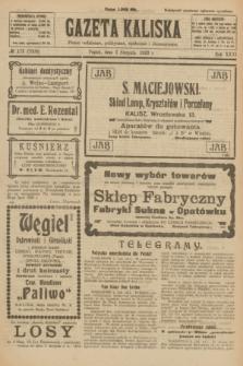 Gazeta Kaliska : pismo codzienne, polityczne, społeczne i ekonomiczne. R.31, № 173 (3 sierpnia 1923) = nr 7508