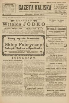 Gazeta Kaliska : pismo codzienne, polityczne, społeczne i ekonomiczne. R.31, № 197 (1 września 1923) = nr 7532